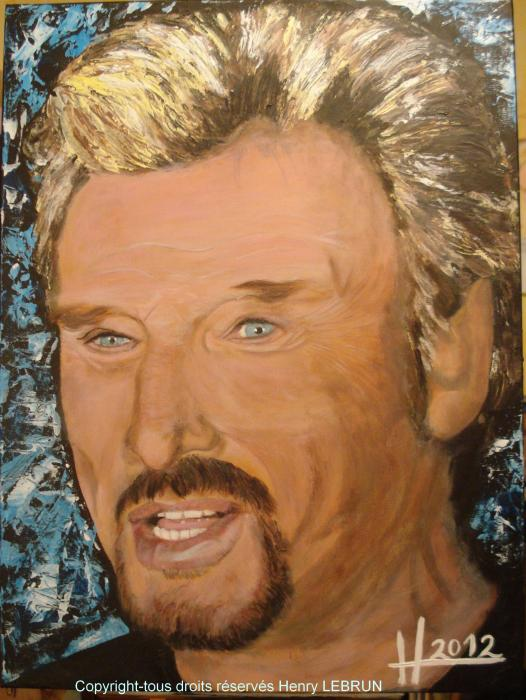 Johnny Hallyday by lhommeloiret